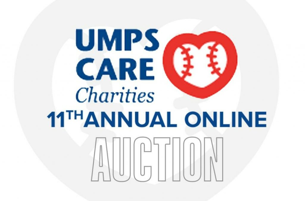 UMPS CARE 11th Annual Online Auction Hosted on MLB.com Is Live!