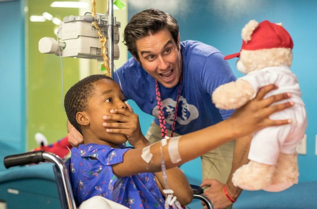 MLB Umpires Warm Hearts at Phoenix Children's Hospital