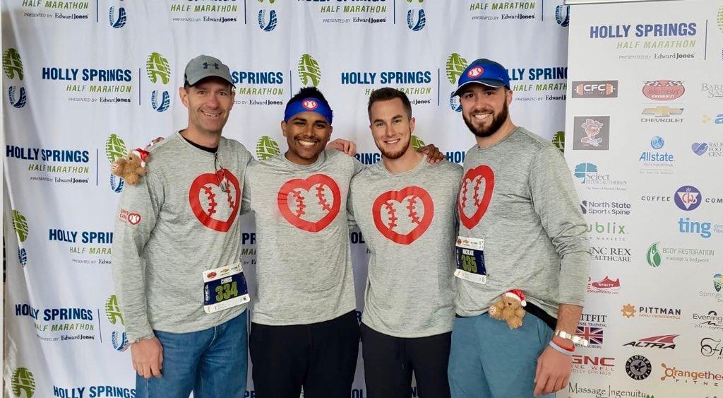 Three Umpires Run Half Marathon To Fund Hospital Build-A-Bear Event