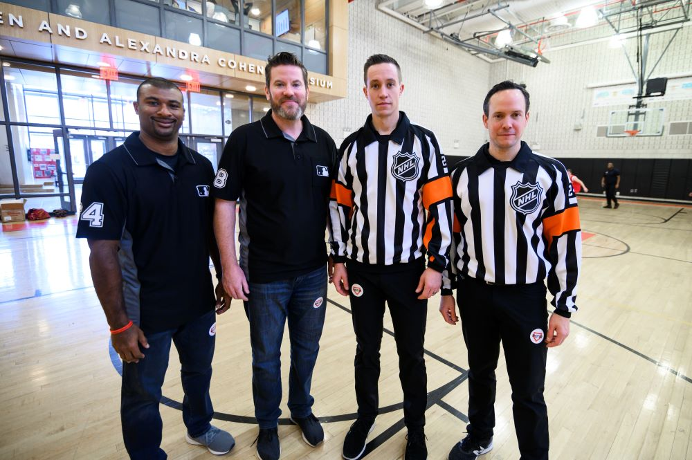 MLB Umpires And NHL Referees Team Up At DREAM Charter School