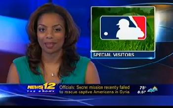 MLB Umpires Visit The Children's Hospital at Montefiore