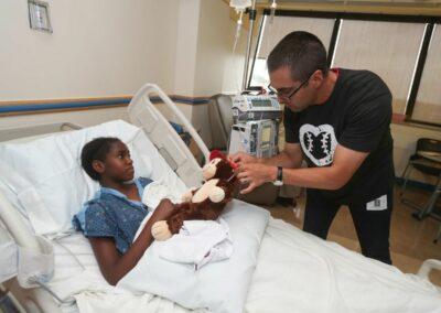 MLB Gabe Morales Children's National Medical Center 2019