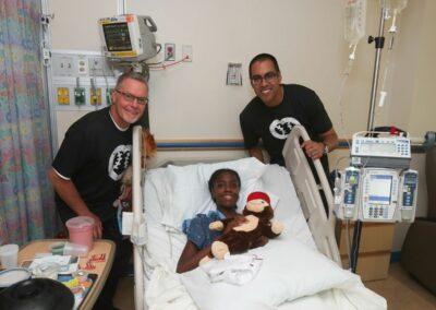 MLB umpires Jerry Meals and Gabe Morales Children's National Medical Center 2019