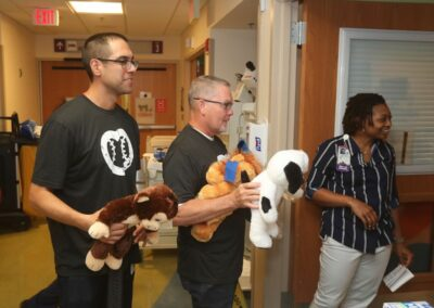 MLB umpires Gabe Morales and Jerry Meals Children's National Medical Center 2019
