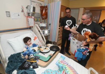 Jerry Meals and Gabe Morales at Children's National Medical Center 2019