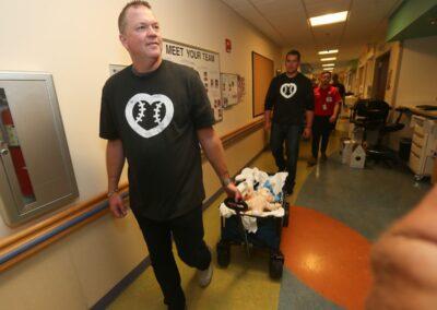 MLB Umpire Ron Kulpa Children's National Medical Center 2019