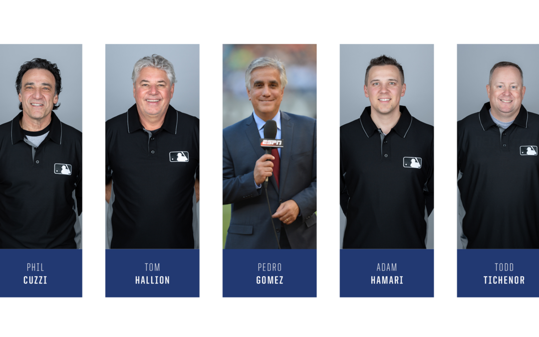SOLD OUT!  Major League Baseball Umpires For Steaks & Stories Event Sunday, May 17