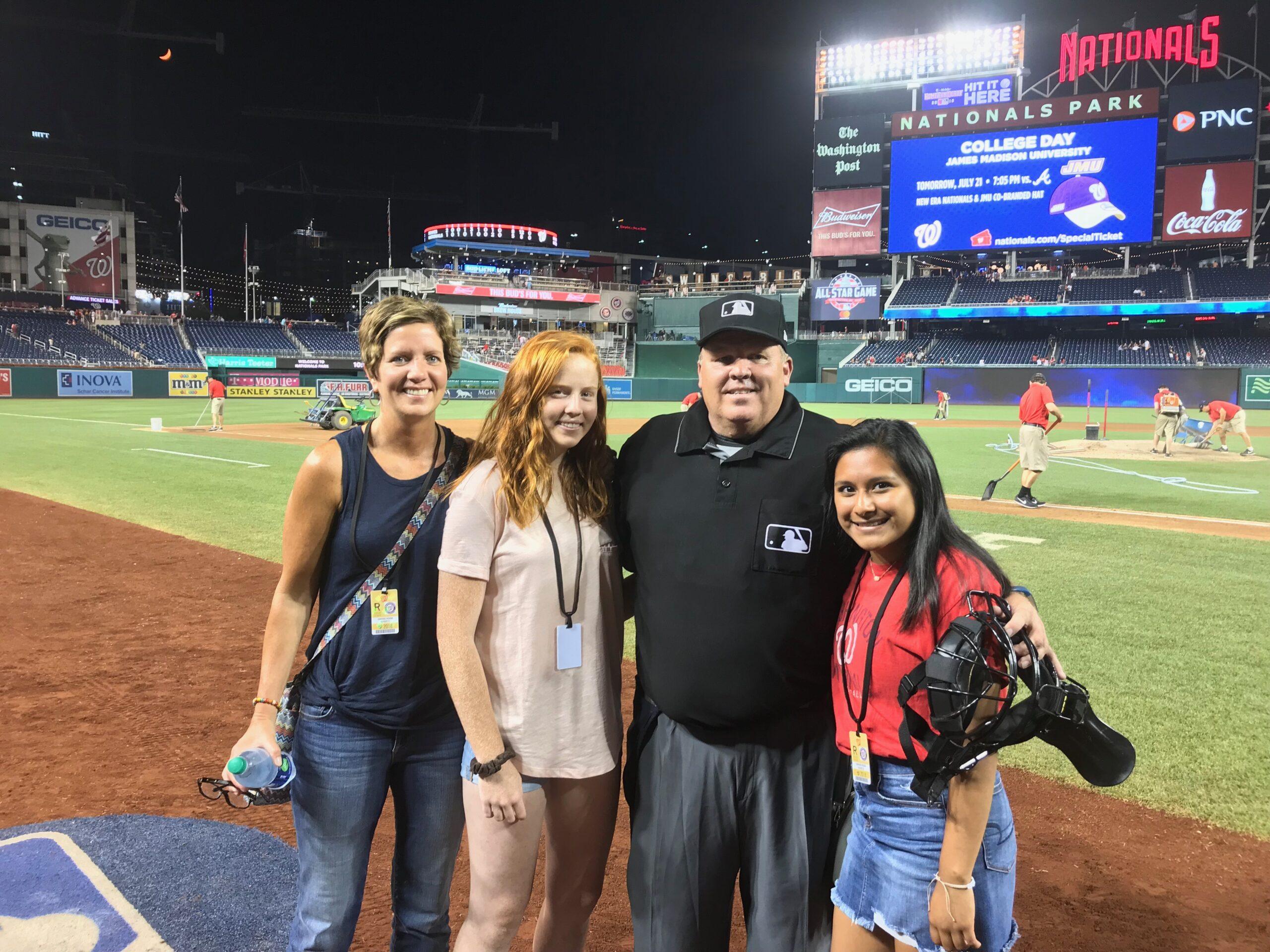 MLB Umpires Enjoy Rare Holiday At Home This Season - Father's Day