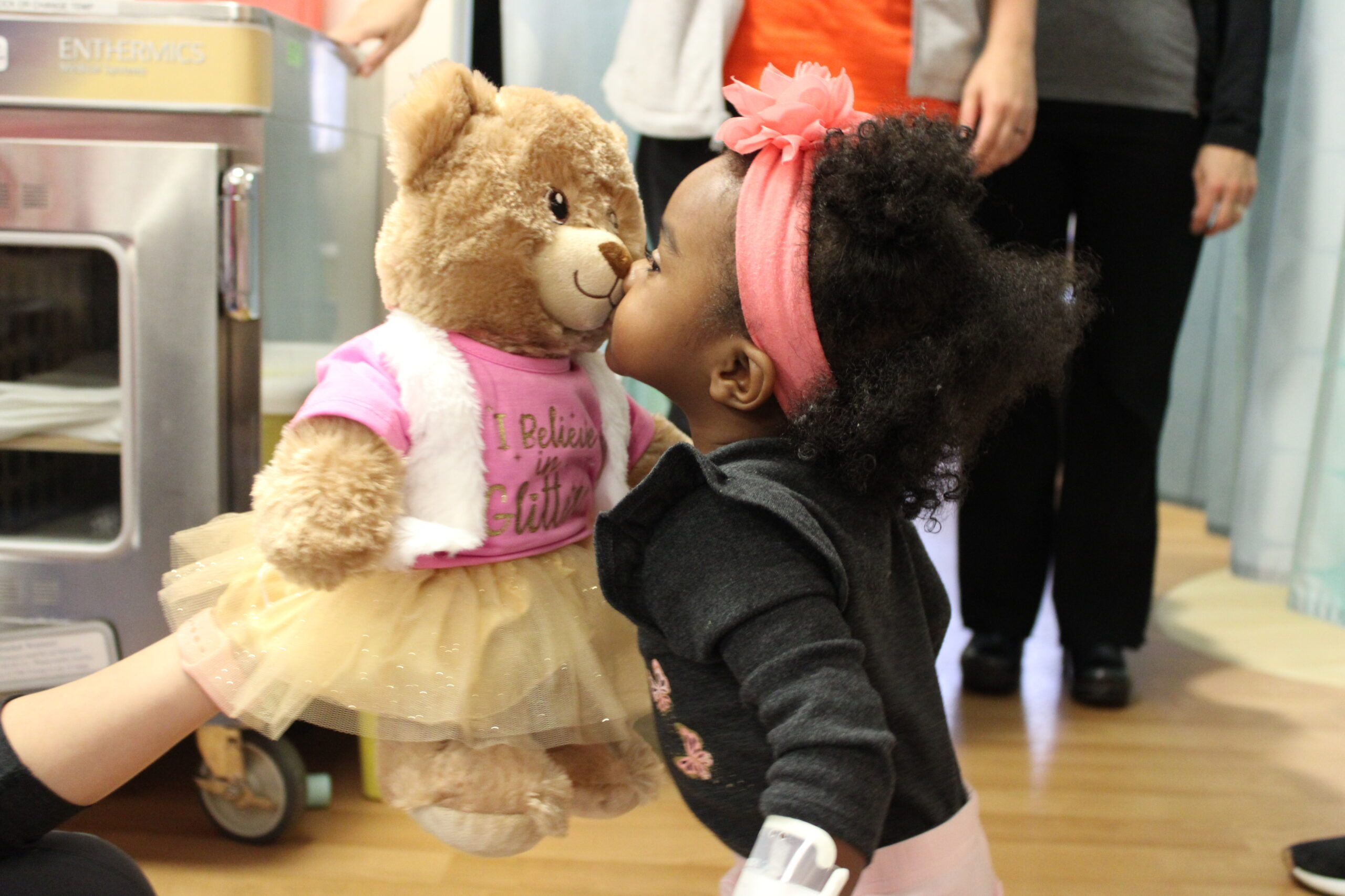 Delivering Build-A-Bears and smiles to kids who need them more now than ever