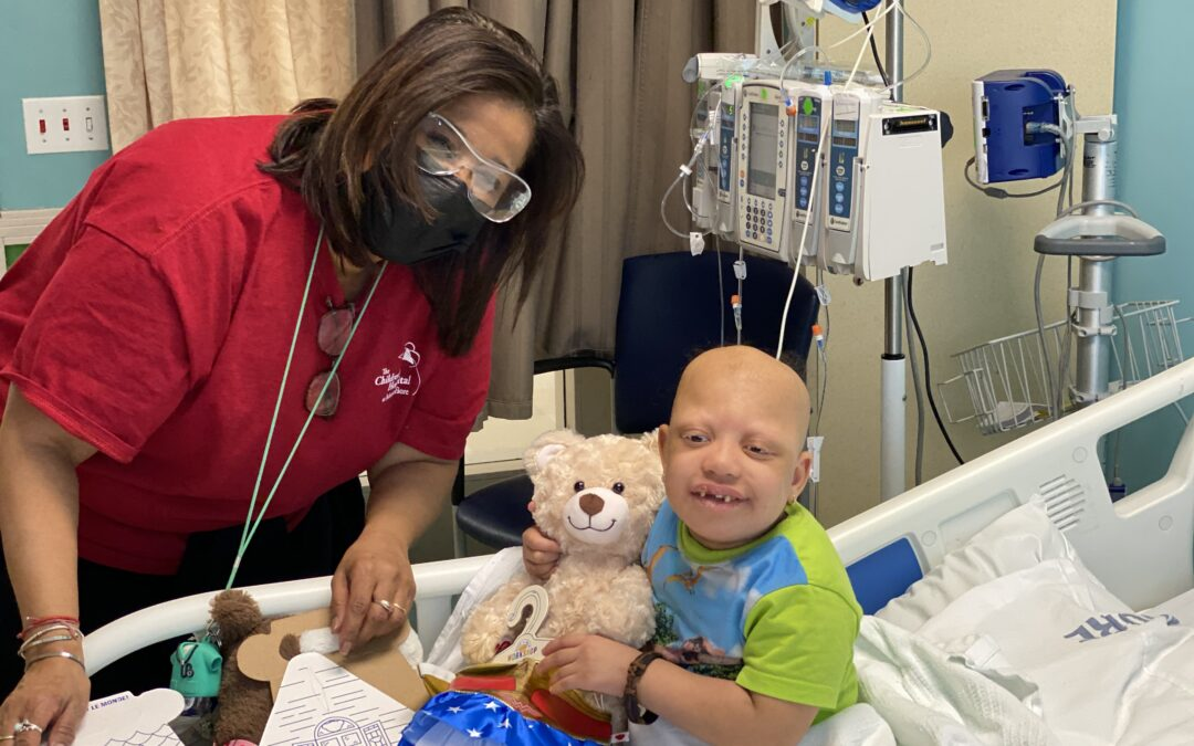 MLB Umpires deliver Build-A-Bears to kids undergoing hospital treatment in time for Opening Day!