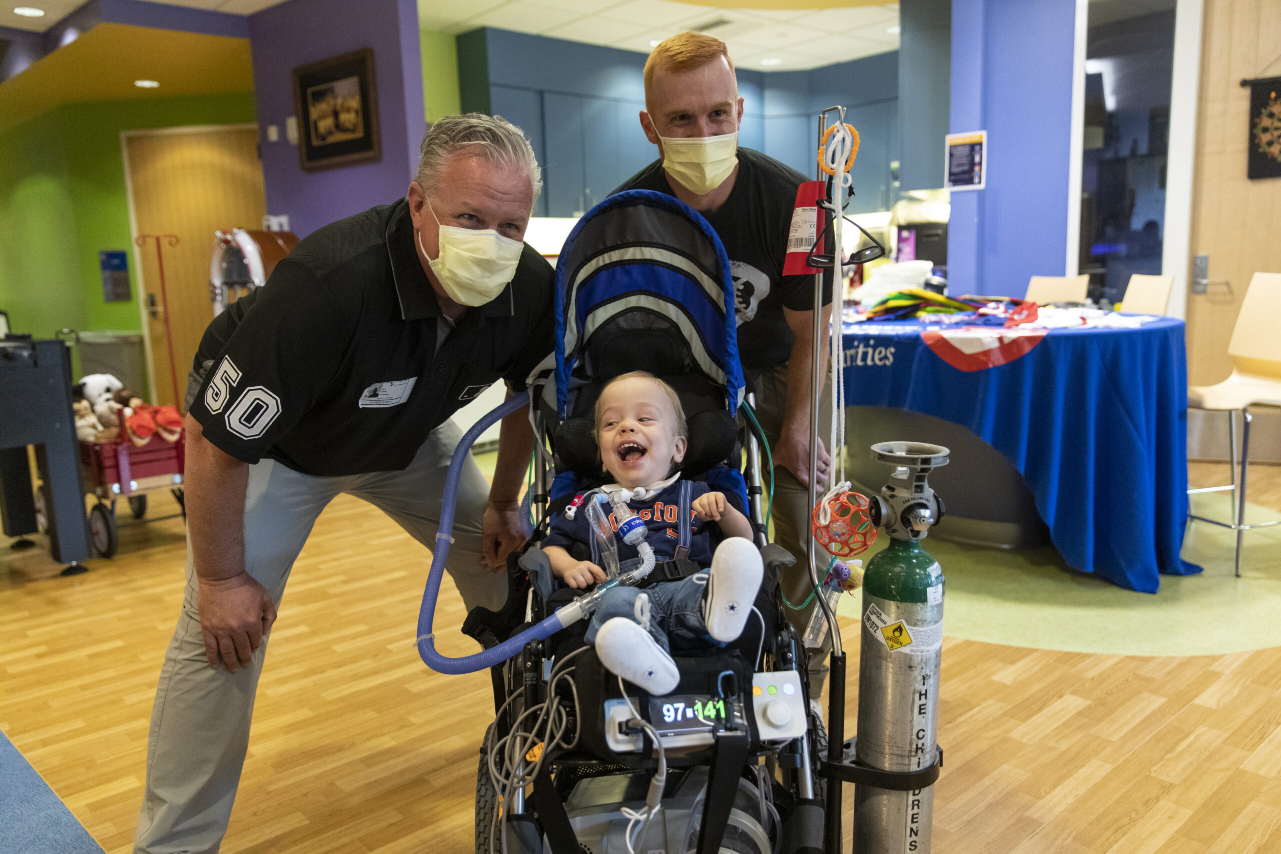 Delivering All-Star Game Spirit And Smiles To Young Patients at Children's Hospital Colorado