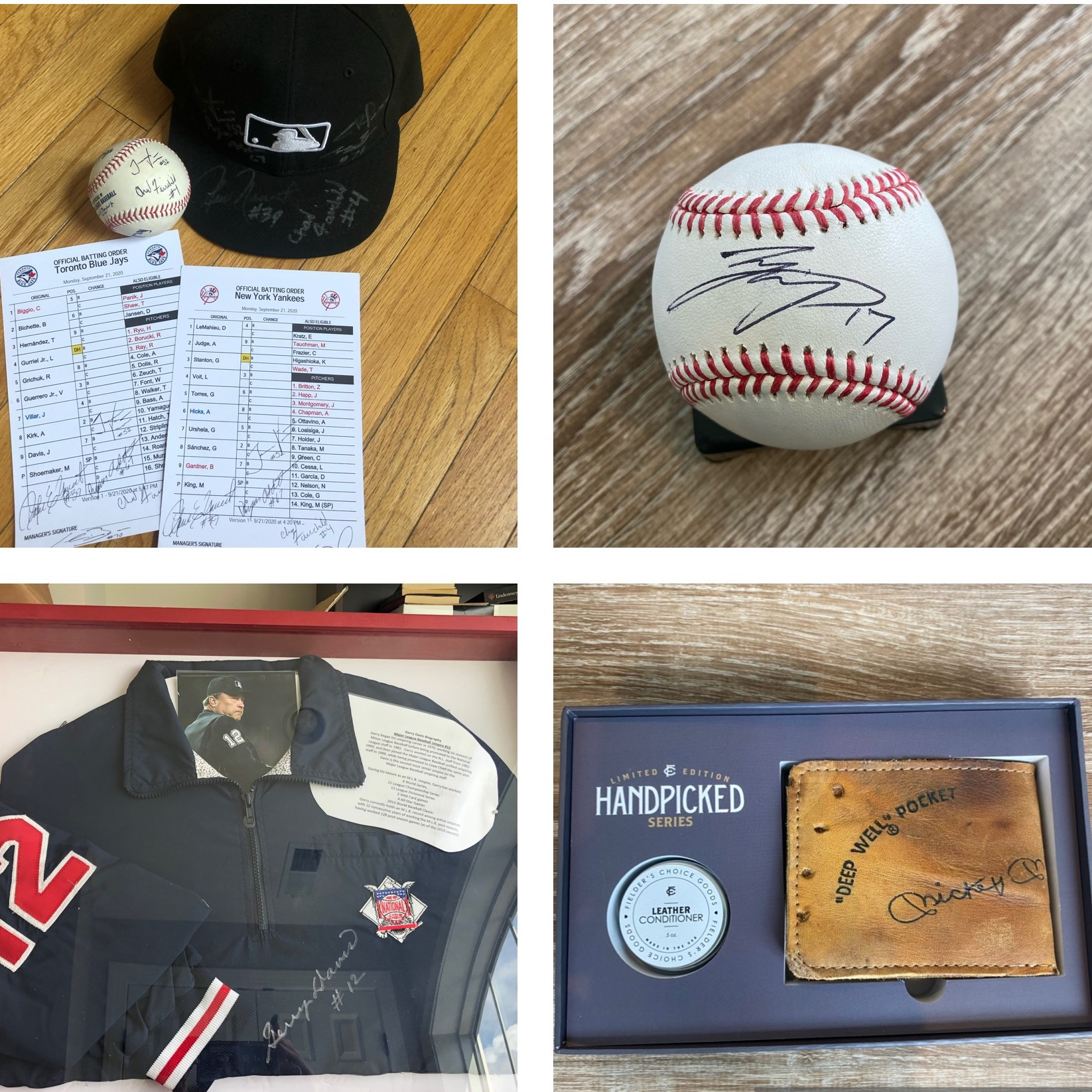 UMPS CARE 13th Annual Online Auction Hosted on MLB.com Is Ready For Your Bids - NOW Through Sept. 20!